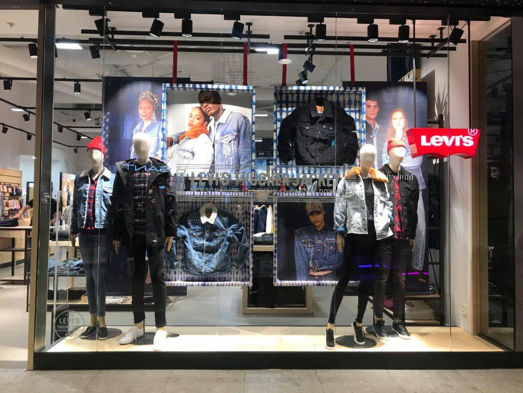 levis store mall of scandinavia
